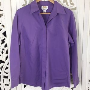 Talbots Wrinkle Wrinkle Resistant Button Down